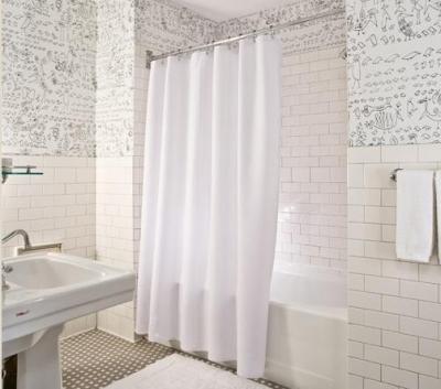 Обои и шторы как декор в ванной комнате. - обои в ванной комнате отзывы - запись пользователя ...