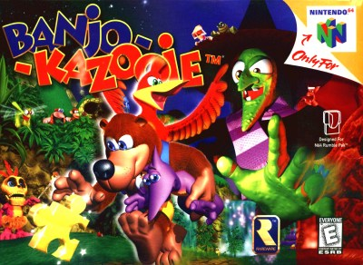 Banjo-Kazooie - The Banjo-Kazooie Wiki - Banjo-Kazooie, Nuts and Bolts, music, and more