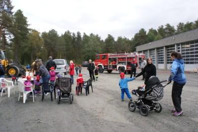 Åpen brannstasjon i dag - Trollheimsporten