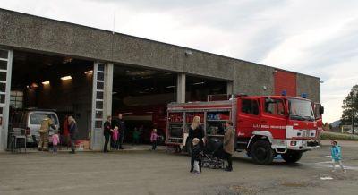 Åpen brannstasjon i Rindal - Trollheimsporten
