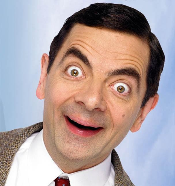Mr Bean Faces   Mr Bean s Funny Face Hello  is listed  or ranked  2 on the list Mr  Bean s Funniest