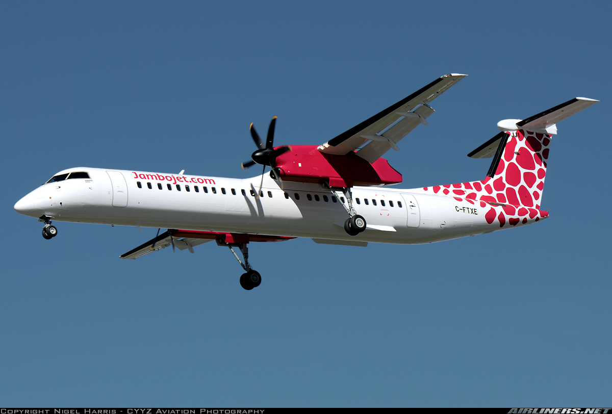 Bombardier DHC-8-402 Q400 - Jambojet Airlines | Aviation Photo #4373837 | Airliners.net