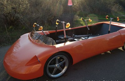 Human Powered Car Can Go 30 MPH While Driving Uphill | Inhabitat - Green Design, Innovation ...