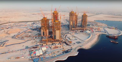 New Dubai Creek Tower images show progress on the next world's tallest building | Inhabitat ...