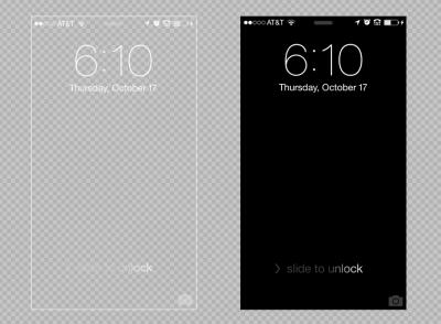 iPhone 5 (5C & 5S) Lock Screen Background Template - PSD » Blog: Design & Branding, FAQs & Blog ...