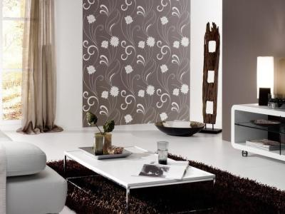 Wallpaper Design For Living Room that Can Liven Up The Room - InspirationSeek.com