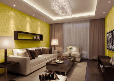 Wallpaper Design For Living Room that Can Liven Up The Room - InspirationSeek.com