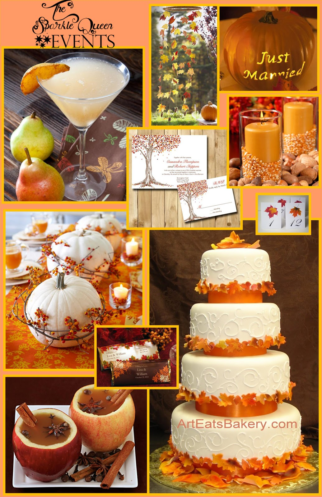 fall wedding inspiration fall wedding favors fall wedding inspiration board v2 TSQE