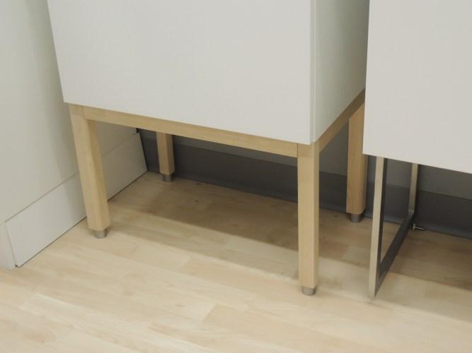 ikea website missing items kitchen cabinets with legs SKARALID legs