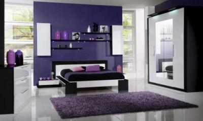 Purple Bedroom Decorating Ideas - Interior design