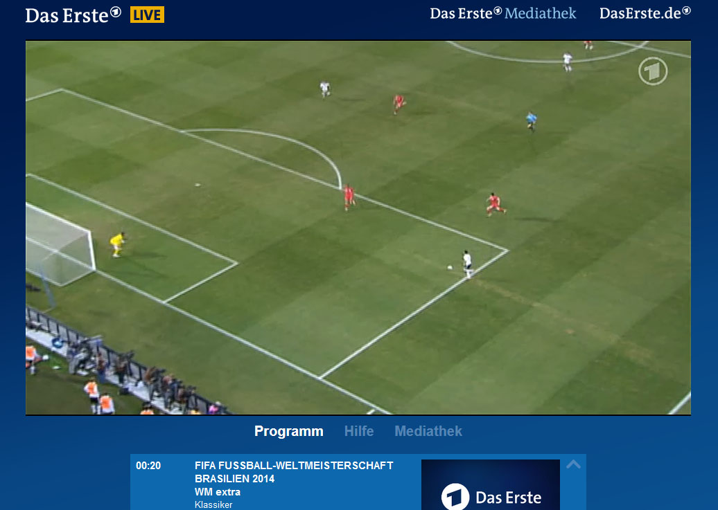 How to unblock and watch ARD Mediathek channels online outside     Unblock BDas Erste   Watch world Cup 2014 for free