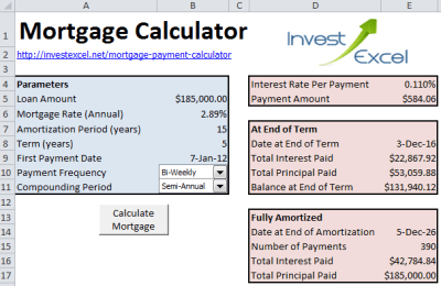Mortgage Payment Calculator