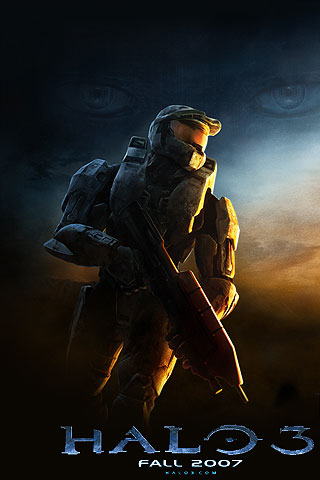 iPhone Halo 3 Free Wallpaper, Halo 3 iPhone Background, Cool iPod Touch Halo 3 Wallpaper, Halo 3 ...