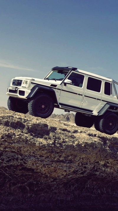 The-Mercedes-Benz-G63-AMG-6x6-iPhone-Wallpaper - iPhone Wallpapers