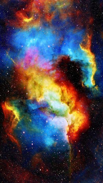 Colorful-Galaxy-Nebula-Space-iPhone-Wallpaper-iphoneswallpapers_com - iPhone Wallpapers