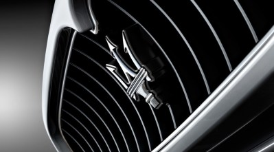 Maserati Car Logo Design Background HD Wallpaper Maserati Car Logo in Grill