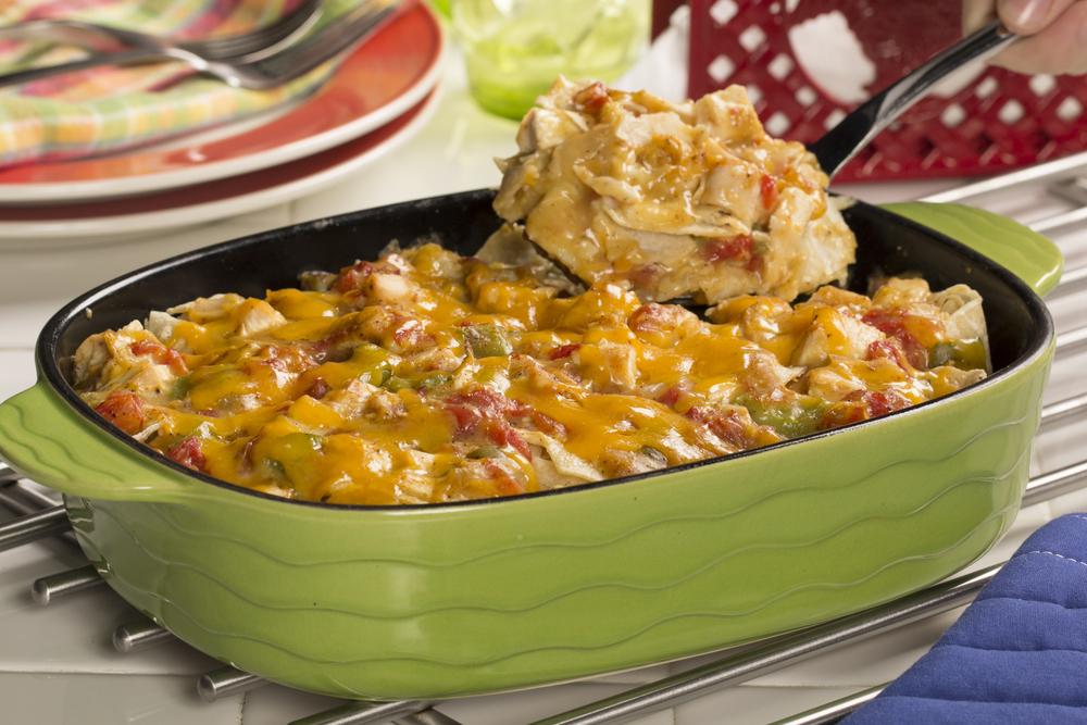 Light King Ranch Chicken Casserole | EverydayDiabeticRecipes.com