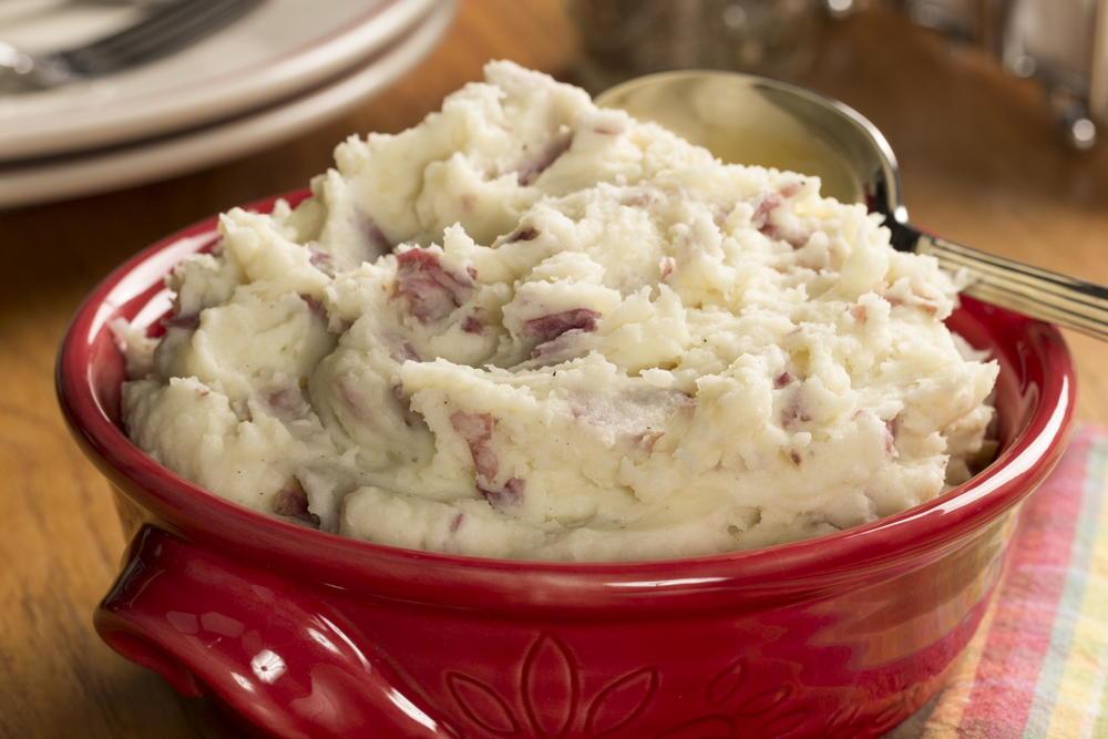 Homestyle Smashed Potatoes | EverydayDiabeticRecipes.com