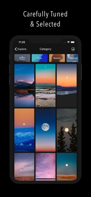 Clarity Wallpaper on the App Store