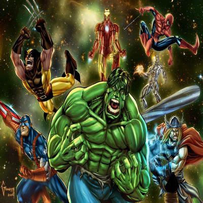 Marvel Heroes Live Wallpaper|iPhone最新人気アプリランキング【iOS-App】