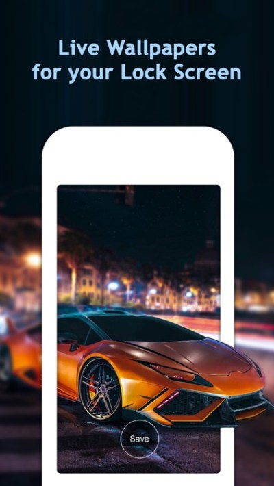 Moving Wallpapers Free for Lock Screen by Fexy Apps