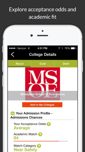 ‎College Scholarship Calculator on the App Store