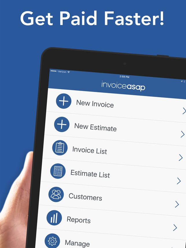 Invoice ASAP  Invoicing on the App Store  Invoice ASAP  Invoicing on the App Store