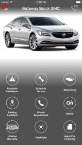 Gateway Buick GMC DealerApp on the App Store iPhone Screenshots