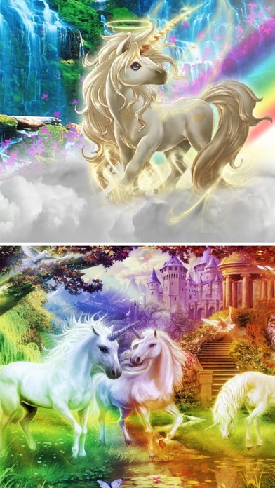 Rainbow Unicorn Wallpapers HD - Cool Pony Horses App Download - Android APK