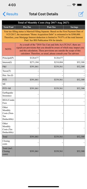 Loan Calculator & Tax Savings on the App Store