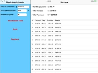 Simple Loan Calculator on the App Store