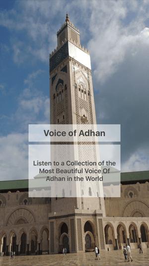 Most Beautiful Voice Of Adhan-Islamic Azan Prayers on the App Store