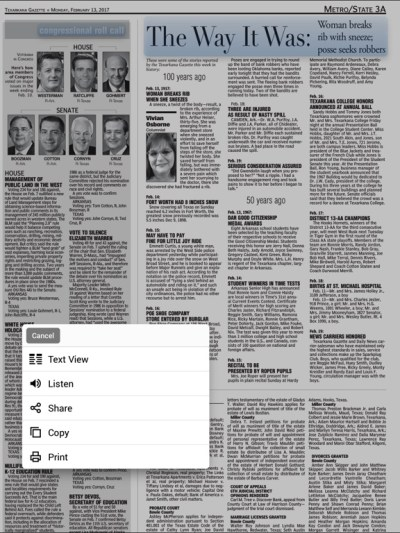 The Texarkana Gazette on the App Store