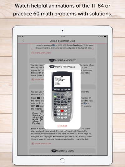 TI 84 Graphing Calculator Man. IPA Cracked for iOS Free Download