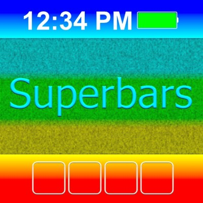Superbars: create your own wallpapers on the App Store