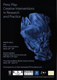 Press Play: Creative Interventions in Research and Practice