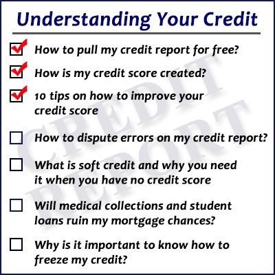 10 Tips On How To Improve Your Credit Score | I Want A Great Home Loan