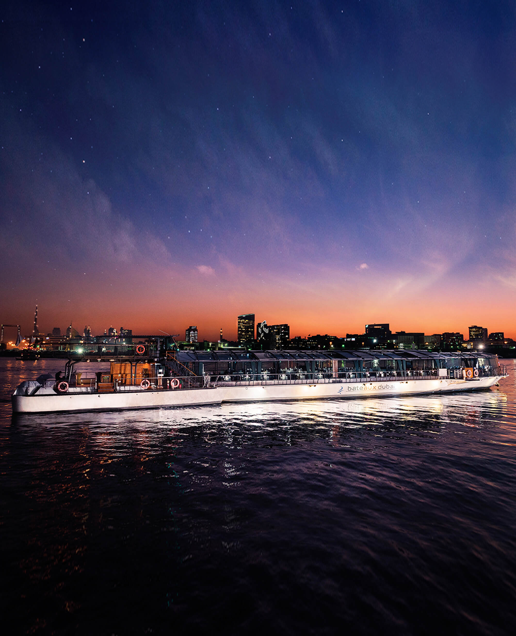 Bateaux Dubai Dinner Cruise | JA Resorts & Hotels | Dubai Experience