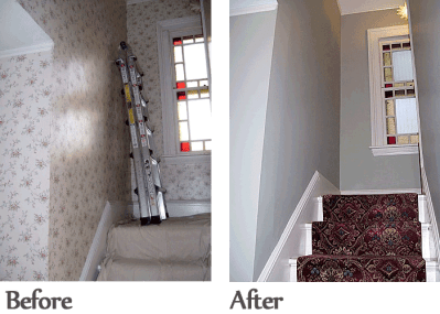Wallpaper Removal & Repair | Downers Grove, IL Painter | J&B Paint & Wallpaper
