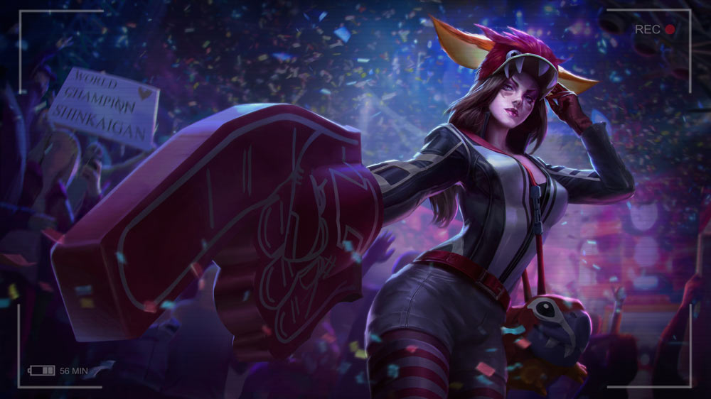 Get  Championship Catherine  by Watching the 2017 World Championship     To celebrate the 2017 Vainglory World Championship  you ll have a  limited time opportunity to get a brand new Catherine skin free