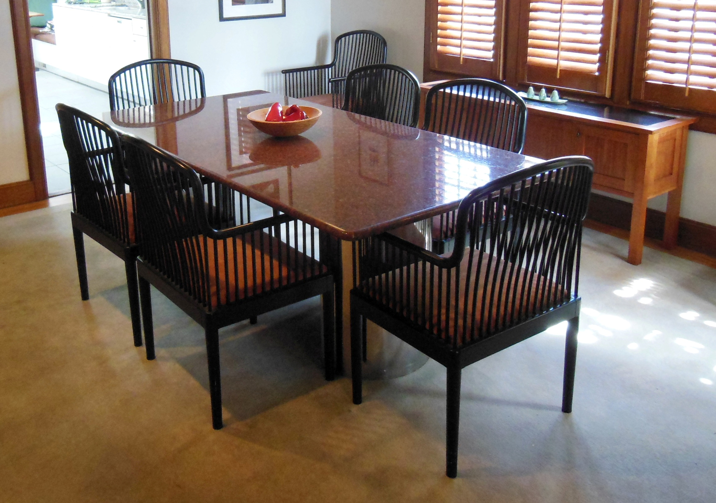 design granite kitchen table Granite Dining Table