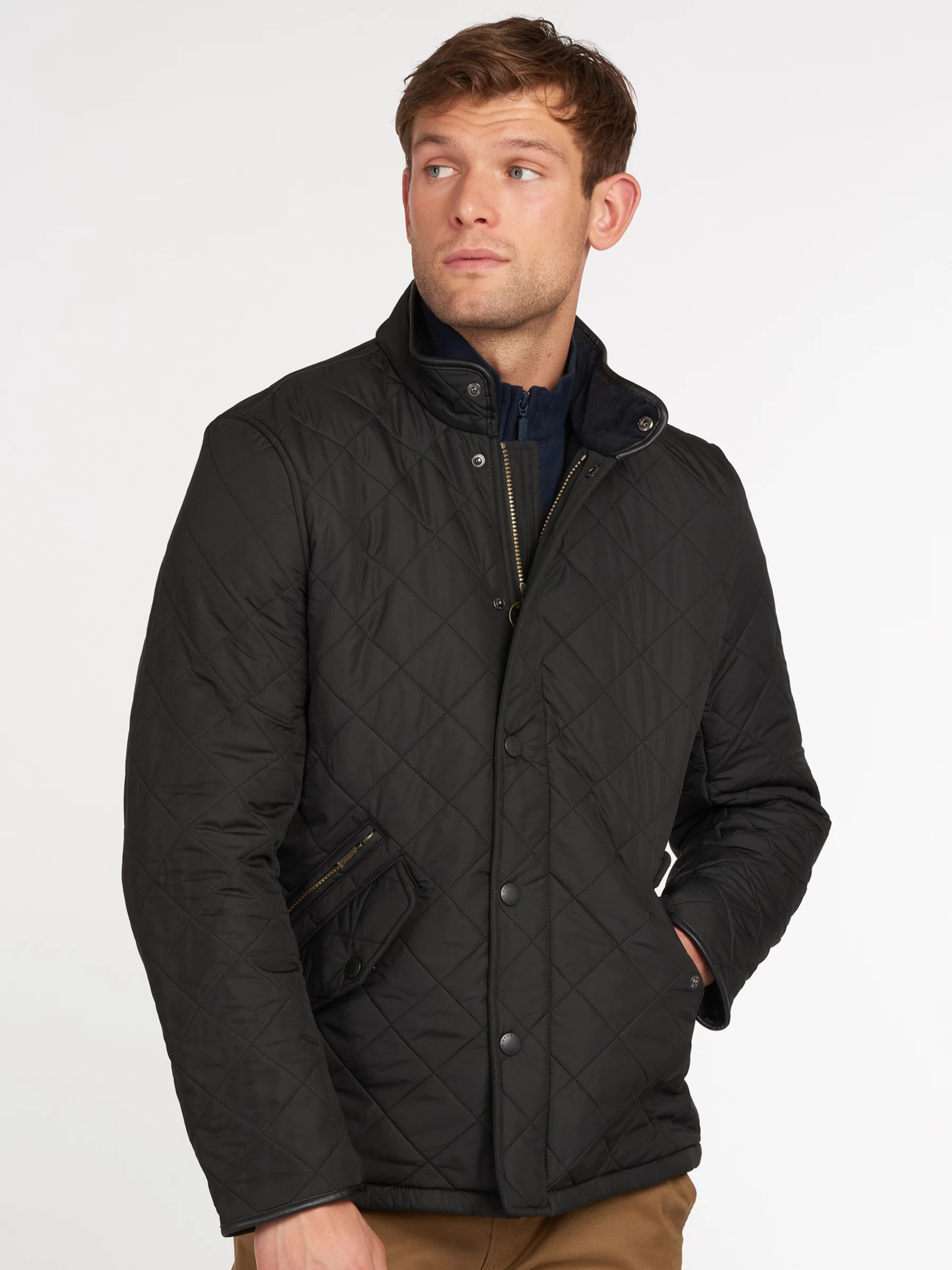 Barbour Lifestyle Powell Quilted Jacket at John Lewis ...