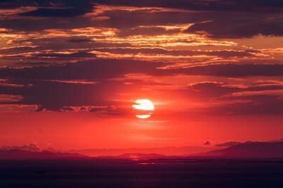 Free photo: sunset sky - Sky, Summer, Season - Free Download - Jooinn