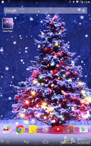 20 Free Christmas Live Wallpapers with HD, 3D or Music