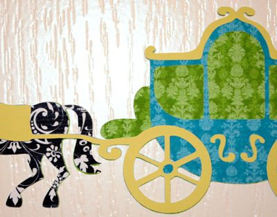 Happily Ever After Blog Hop – Cricut Imagine Printed Vinyl Horse & Carriage
