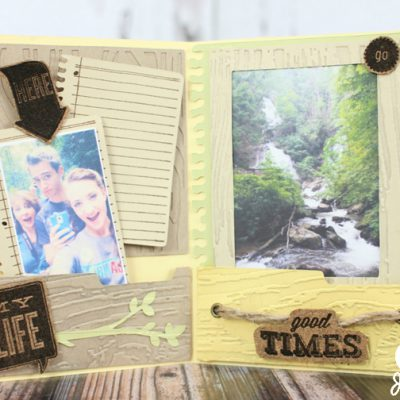 Cricut Artbooking Mini Album Nature Pages