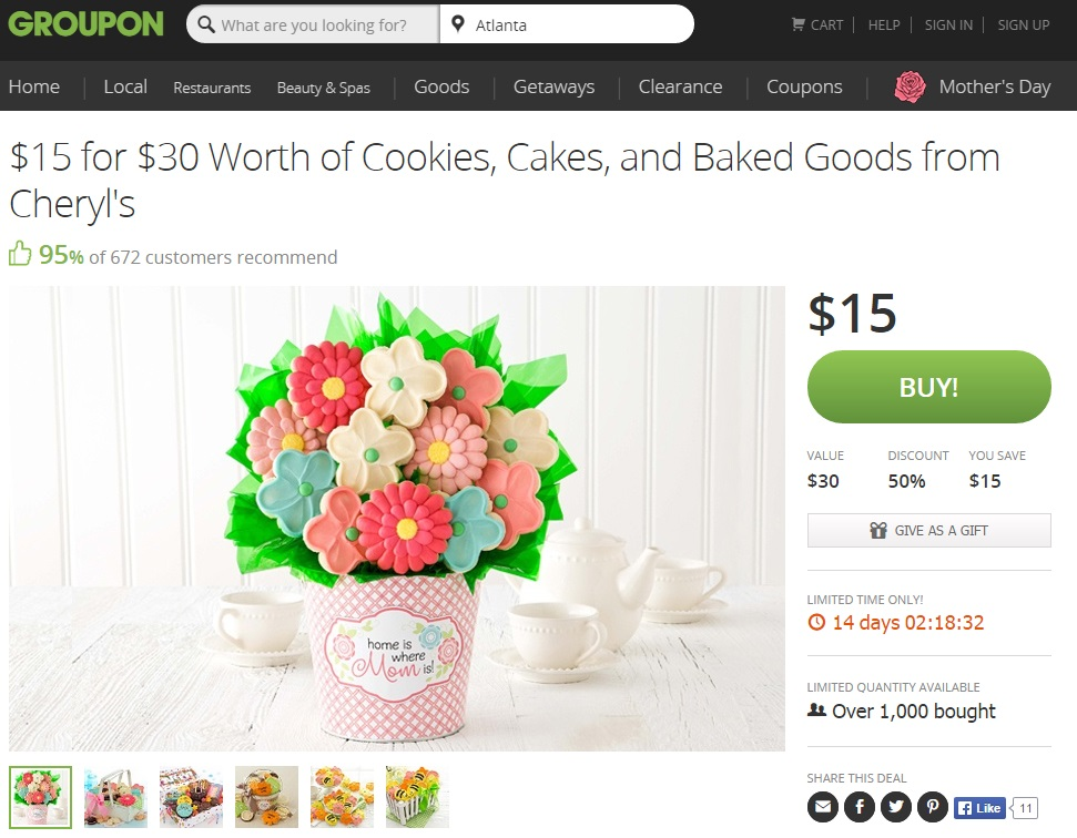 Mother's Day Gift Ideas with Groupon #Groupon #MothersDay #GiftIdeas