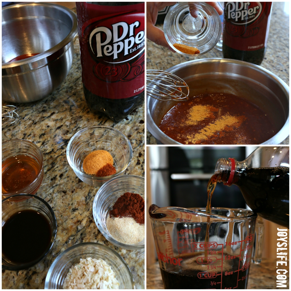 Slow Cooker Dr Pepper BBQ Chicken Recipe #ad #drpepper #crockpot #slowcooker #recipe #BBQ #gameday