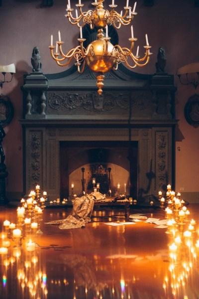 Italian Gothic Wedding Inspiration at Villa Di Maiano ...
