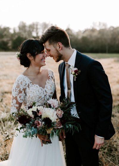 Vintage-Inspired North Carolina Wedding at Windy Hill Farm ...